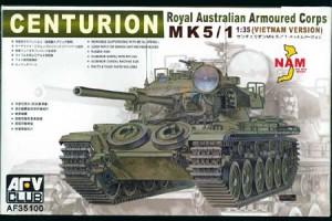 Centurion Mk.5/1 RAAC Vietnam Version - AFV Club 35100