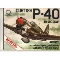 Curtiss P-40 en Action - Squadron Signal 26