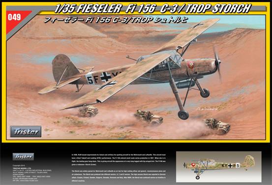 Fieseler Fi 156 C-3 Storch - TRISTAR 35049