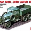 GAZ-AAA Mod De 1940 Camión de Carga - MINIART 35136