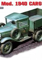 GAZ-AAA Mod 1940 Nákladu Truck - MINIART 35136