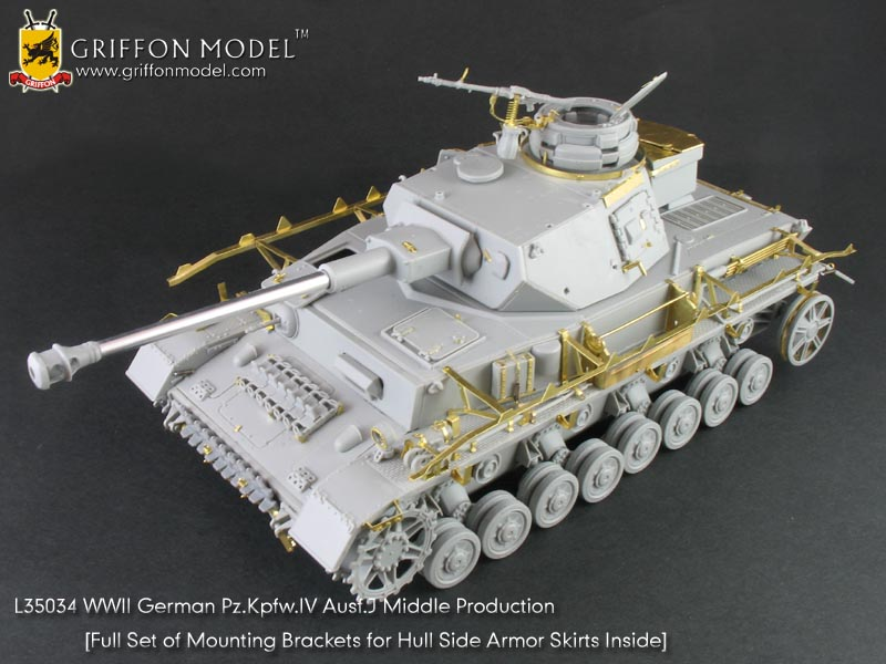 German Pz.Kpfw.IV Ausf.J Middle Production - GRIFFON MODEL 35034