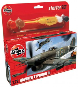Hawker Typhoon Starter Set - Airfix A50079