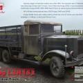 Krupp L3H163 la segunda guerra mundial German Army Truck - ICM 35461