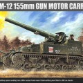 M-12 155 mm KANON MOTORDREVNE TRANSPORT – ACADEMY 1394