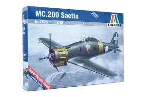MC.200 SAETTA - ITALERI 2676