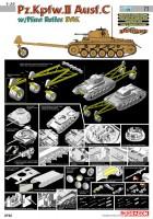 Pz. Kpfw.II Ausf. C w/Rudnik Roller DAK Cyber Hobi 6752
