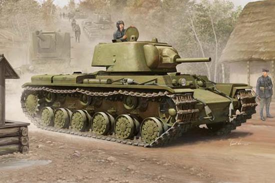 Russian KV-1 Mod1939 - Trumpeter 01561