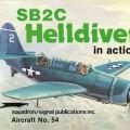 SB2C Helldiver w akcji - eskadra sygnału 54