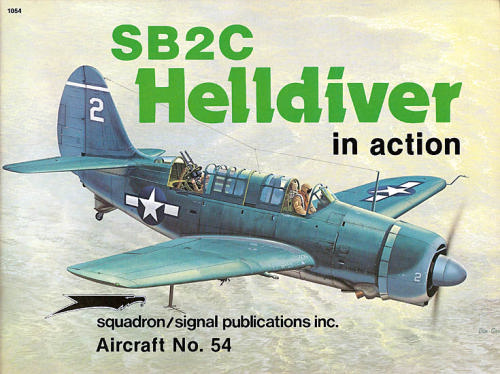 SB2C Helldiver in action - Squadron Signal 54