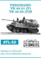 Lugusid Ferdinand / VK 45.01(P) VK 45.02(P)H - Friulmodel ATL-62