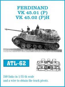 Spor for Ferdinand / VK 45.01(S) VK 45.02(S)H - Friulmodel ATL-62