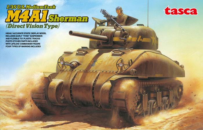 U.S. Medium Tank M4A1 Sherman – TASCA 35025