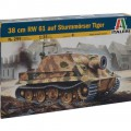 38 cm RW 61 op de aanval mortel Tiger - ITALERI 299