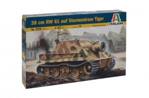 38 cm RW 61 auf Sturmmorser Tiger - sivustot 299