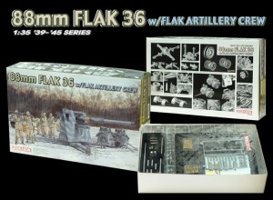 88-мм зенитная артиллерийская установка FLAK 36 w/FLAK-DML 6260