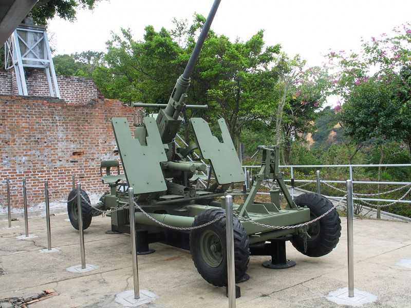 Bofors 40 mm - Walk Around