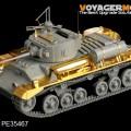 Brytyjski Valentine Mk.II Infantry Tank basic - VOYAGER MODEL PE35491