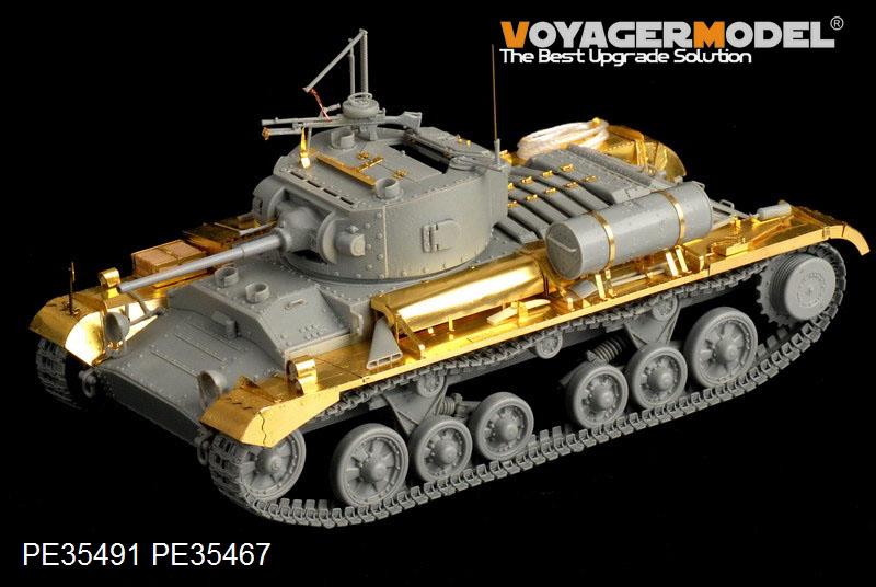 British Valentine Mk.II Infantry Tank Basic U2013 VOYAGER MODEL PE35491
