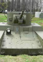 Char leger T-46 - walkaround z żaglem