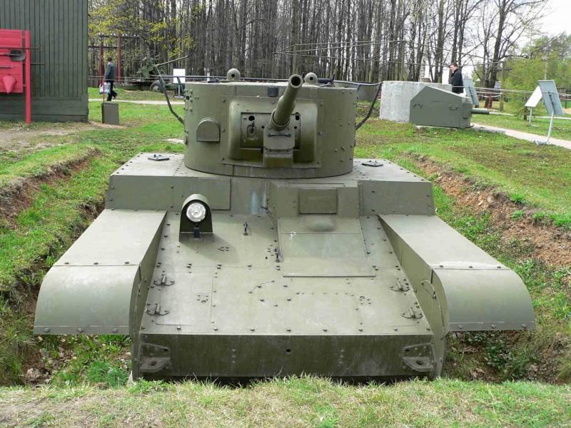 Char léger T-46 - Omrknout