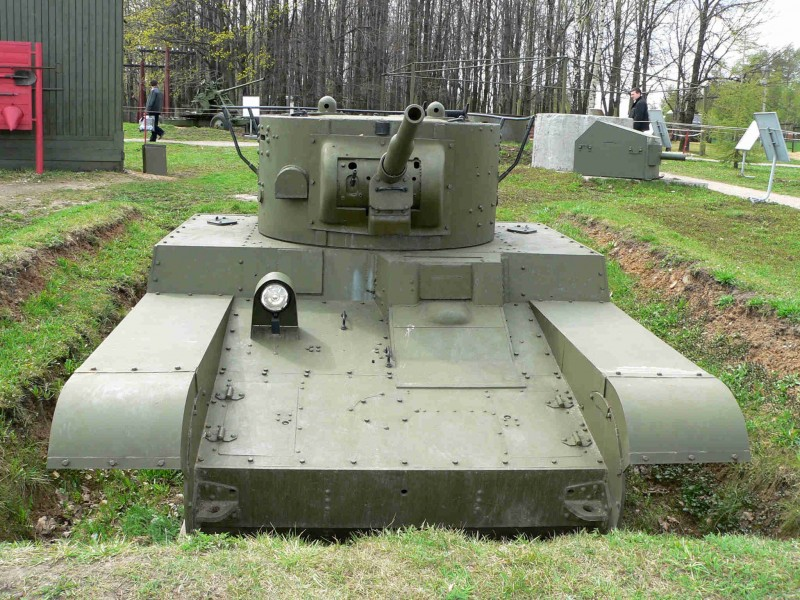 Char léger T-46 - WalkAround