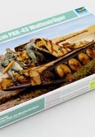 Alemán 8.8 cm PAK 43 Waffentrager - Trompetista 05550