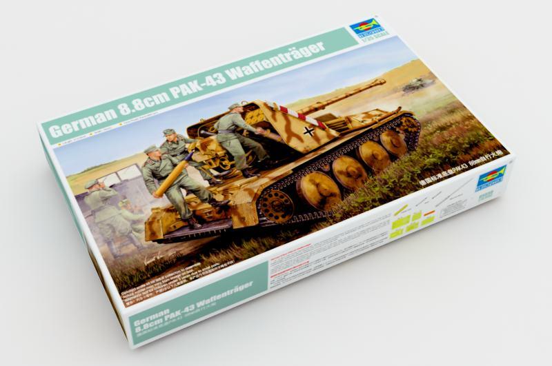Немецкий 8.8cm ПАК-43 Ваффентрагер - Трубач 05550