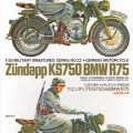 German BMW R75 И Zundapp KS750 - Tamiya 35023