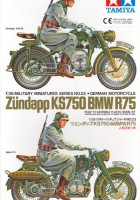 German BMW R75 И Zundapp KS750 - Tamiya 35023