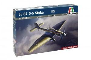 Ju87D-5斯图卡-ITALERI2709