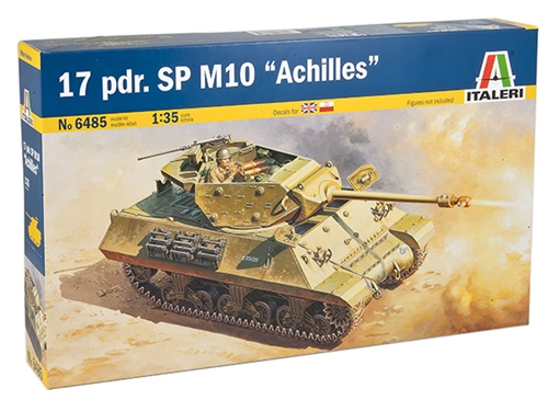M10 Aquiles Tank Destroyer - ITALERI 6485
