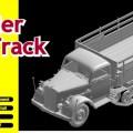 Maultier半のトラック-DML6761