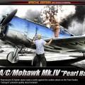 P-36A/C/Mohawk Mk.IV [Pearl Harbor] – ACADEMY 12238