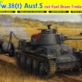 Pz.Kpfw.38(t) Ausf.S Fuel Drum trailer DML 6435