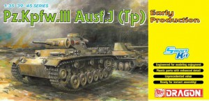 Pz.Kpfw.III Ausf.J (Tp) Early Production - DML 6543
