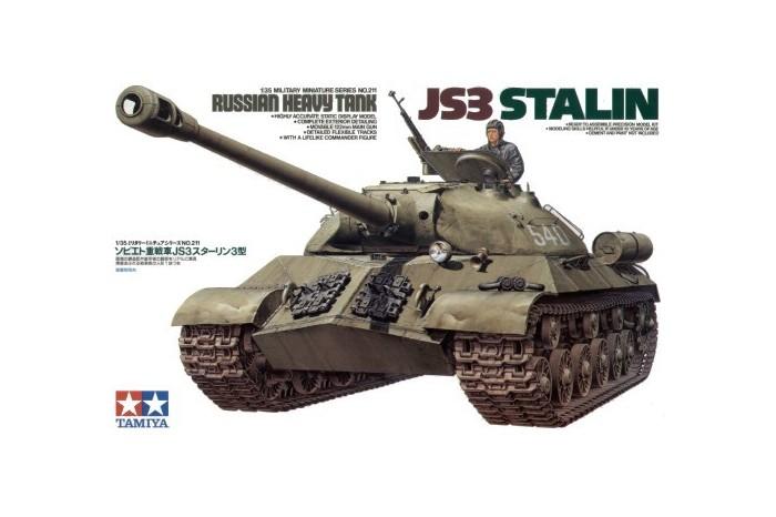 Русский тяжелый танк Сталин JS3-Тамия 35211