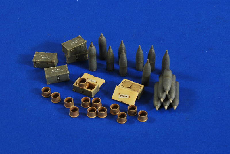 SIG 33 Ammo - Saker - Verlinden 2710