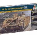 De Sd. De auto. 167 Sturmgeschütz IV - ITALERI 6491