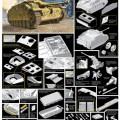 StuG的。三Ausf的。G计算错误和书写错误。 1943年生产的龙6581