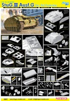 StuG.III Ausf.G Dec. 1943 Production - DRAGON 6581