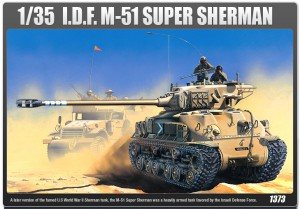 Super Sherman M51 – ACADEMY 1373