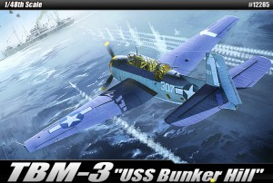 TBM-3 [USS Bunker Hill] – ACADEMY 12285