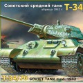 Т-34/76 de tanques Soviética mod. 1942 - Zvezda 3535