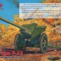 76,2 mm F-22 de la segunda guerra mundial Soviética Divisional de la Pistola - ICM 35702