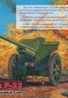76,2 mm F-22 ii MAAILMASÕDA, Nõukogude Jagatud Relv - ICM 35702