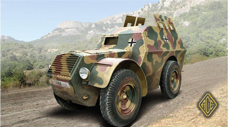 Autoprotetto S. 37 (Armored Car) - Ace-Modelle 72284