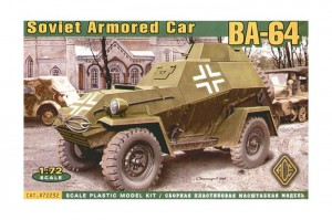 BA-64 Sovietskej Červenej Armády Obrnené Auto - Ace Modely 72232