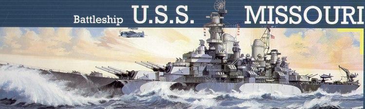 战舰USS密苏里州-5092雷维尔