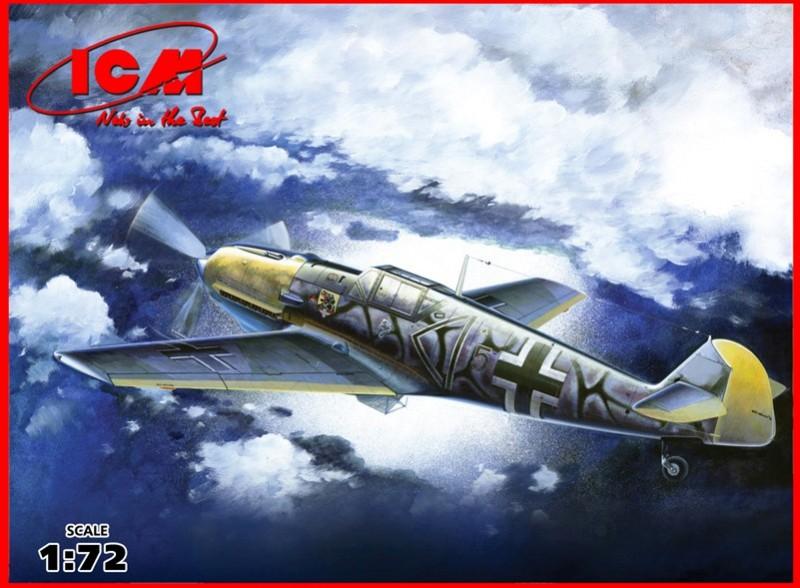 Bf 109E-7/B - la segunda guerra mundial alemán de Caza-Bombardero - ICM 72135